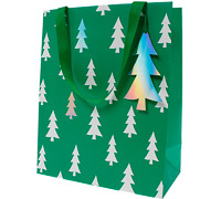 gift bag - large - nordic greenery