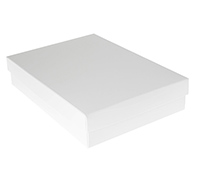 gift box - book (A5) - chill (white)