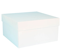 gift box - cake - chill (white)