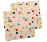 napkins - reversible 3ply - confetti multi
